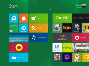 Testing Windows 8 is really fun!